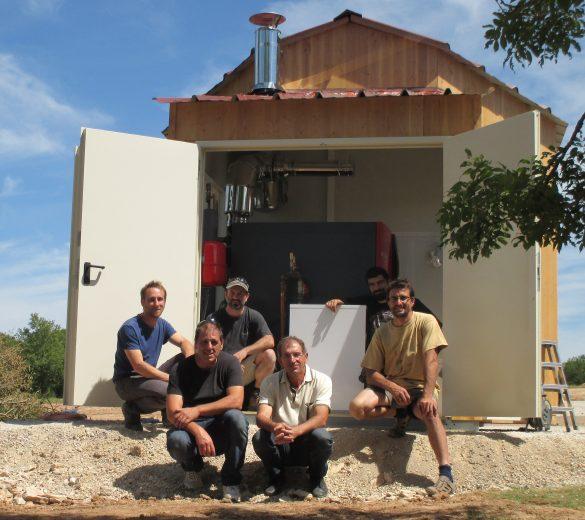 Equipe chantier Rocamadour