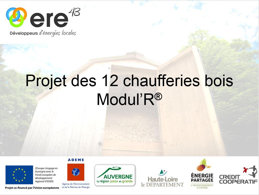 projet des 12 chaufferies Modul'R