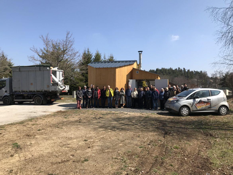ERE43 inaugure sa 5ème chaufferie bois installée au Mazet-St-Voy